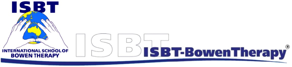 ISBT Bowen Therapy